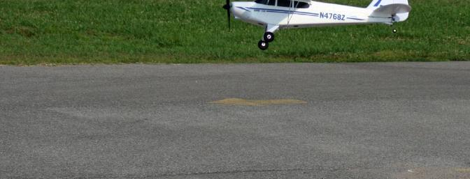 "The Super Cub is not afraid of its own shadow, but gentle ""reunions"" are preferred."
