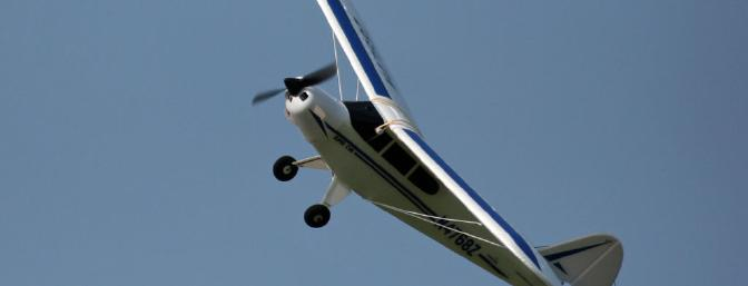 At full-throttle, the Super Cub is quite fast and will zip by in a hurry.