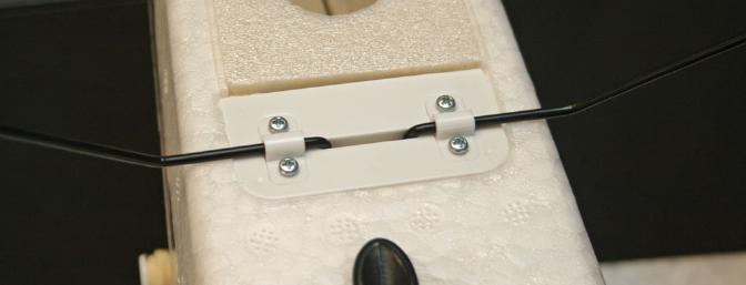 This is the rear mount for the floats.  Quick and easy install.