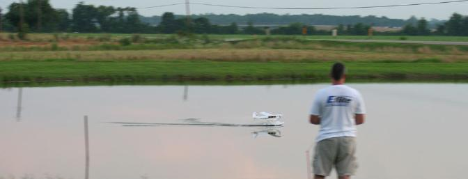 A calm evening on the pond meant LOTS and LOTS of takeoffs and landings.