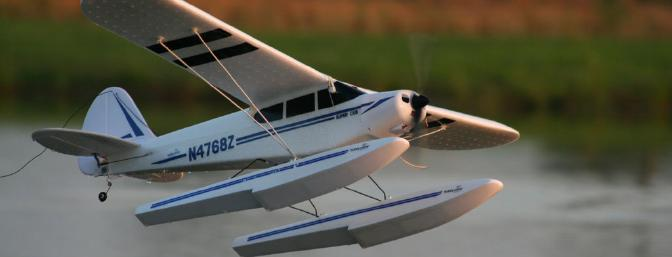 The Super Cub LP looks natural on floats.