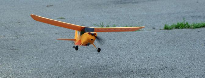 Takeoffs from smooth pavement are good practice and lots of fun.