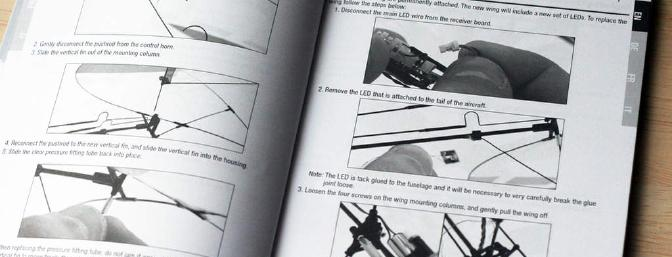 Not sure how to replace the wing?  That's on Page 18 in the manual.