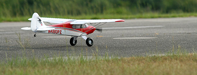 Takeoff roll.  Get the tail up and use rudder as necessary to track straight.