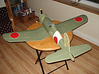 Name: J1 development 17.jpg Views: 72 Size: 180.1 KB Description: My first wing roundels were all red - study of various WW2 magazines highlighted the white border.