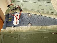 Name: J1 development 027.jpg Views: 77 Size: 239.9 KB Description: 'Hot' rod holes for flap leads.