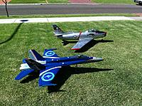 Name: Dans Jets - Sabre and Hornet.jpg