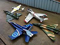 Name: IMG_0795.jpg Views: 51 Size: 278.3 KB Description: My collection of RAAF jets