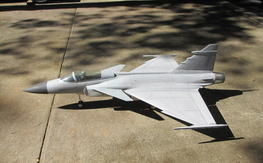 Jet Legend JAS-39 Gripen EDF/Turbine (RTF) And other stuff