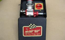 McCoy 60 Red Head Racing Engine New