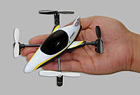 Name: Ares Ethos QX 75 (3) Left High Angle in Hand, Yellow.jpg