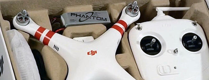 Phantom Quad Copter in the Box