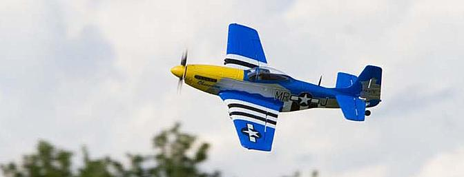 P-51 Takes Flight