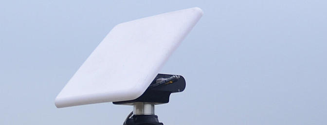 Mount your high gain patch antenna and go fly