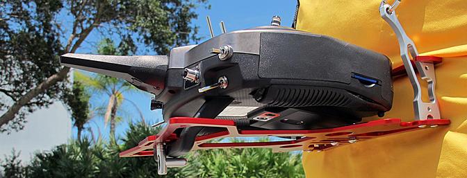 Secraft Spektrum DX9 Transmitter Tray