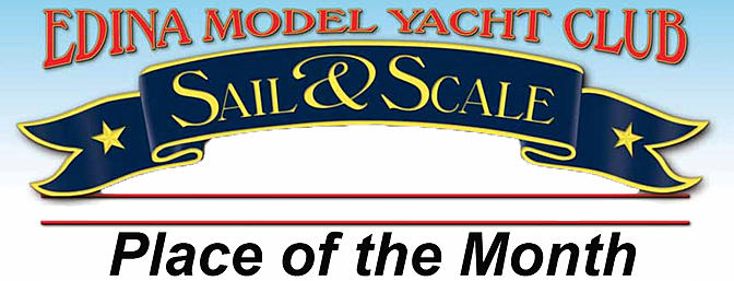 RCG Place of the Month - Edina Model Yacht Club