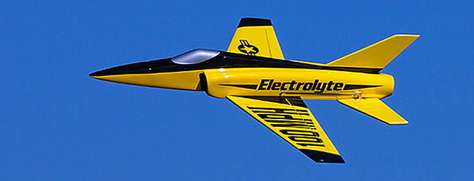 Electrolyte 40mm Composite EDF Micro Jet