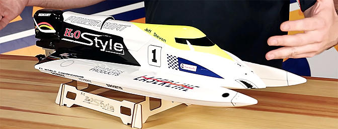 H2O Style 650EP Formula 1 Tunnel Hull