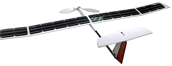 A Working Commercial Solar Powered R/C Glider