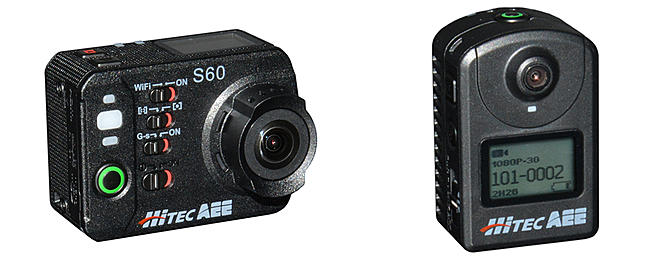New Action Cams from Hitec