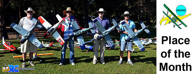 RCG Place of the Month - Hornsby Electric Model Flying Club