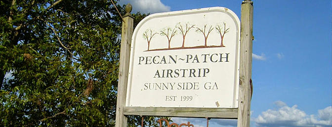 Place of the Month - Pecan Patch Airstrip