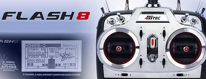 New Hitec Radio - Flash 8