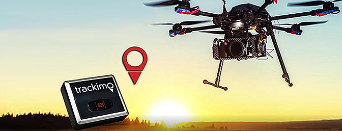 Trackimo - Personal Drone Tracking Finder