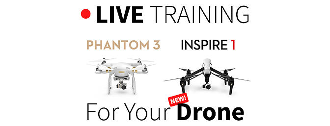 Live Training for Your Drone