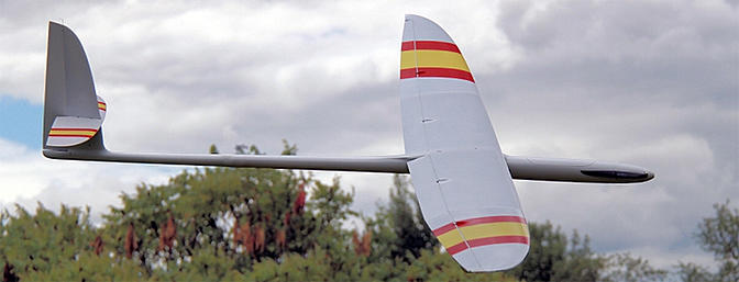 SuperStarlight - All moulded F5J/ALES Sailplane