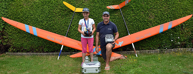 9 Year Old Girl Takes First in F5J Junior Comp