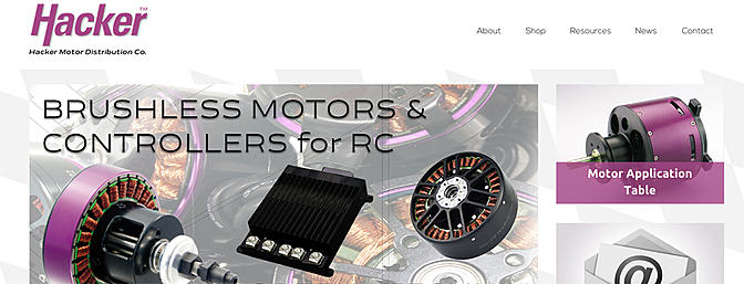 Hacker Motor USA Website Goes Live