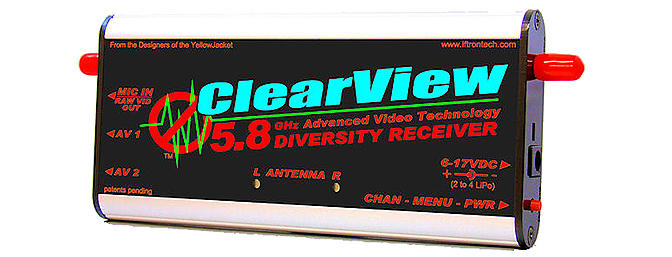 Iftron Tech Clearview Pro 5.8Ghz Receiver