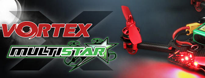 Multistar Vortex Special Edition Racing Quad