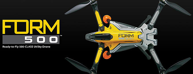 HeliMax Form500 Utility Drone