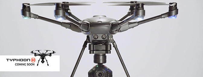 Yuneec Announces Typhoon H Hexacopter
