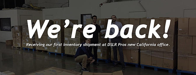 DSLR Pros is Back with a New Owner