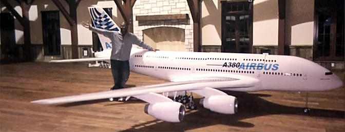 Tyler Perry's Giant A-380 Build Thread