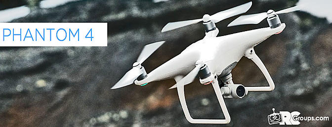 DJI Announces Phantom 4 Drone
