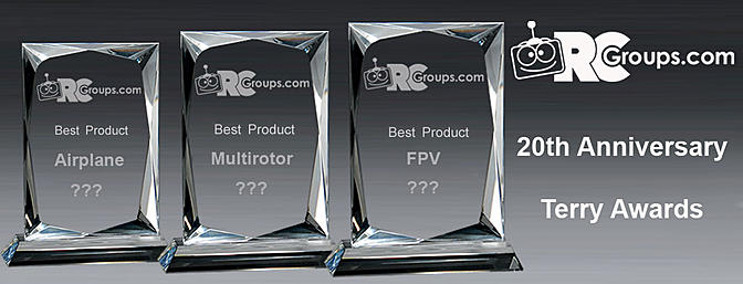 RCGroups.com 20th Anniversary - Terry Award Winners