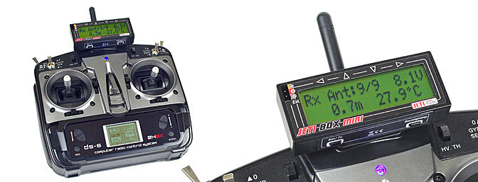 Jeti DS-6 Transmitter Coming Soon