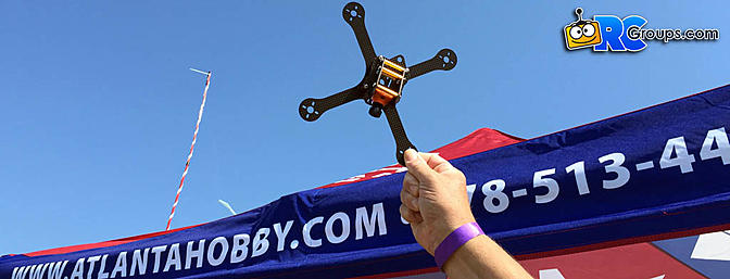 Atlanta Hobby KMR-X Drone Frame First Look