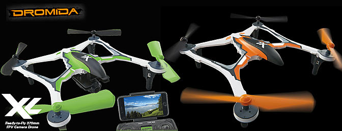 Dromida Releases Two New XL Drones