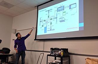 Presentation on multirotor systems at George Mason University