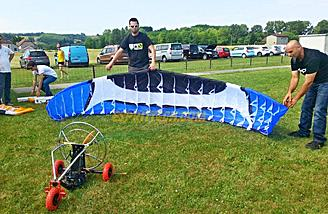 Giant R/C Powered Paragliders