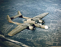 Name: Northrop_P-61_green_airborne.jpg Views: 107 Size: 707.7 KB Description: My previous P-61's were black.  This time I'll go with OD camo.