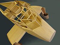Name: Dragonfly 16.jpg Views: 222 Size: 176.5 KB Description: The cockpit roof all framed up.
