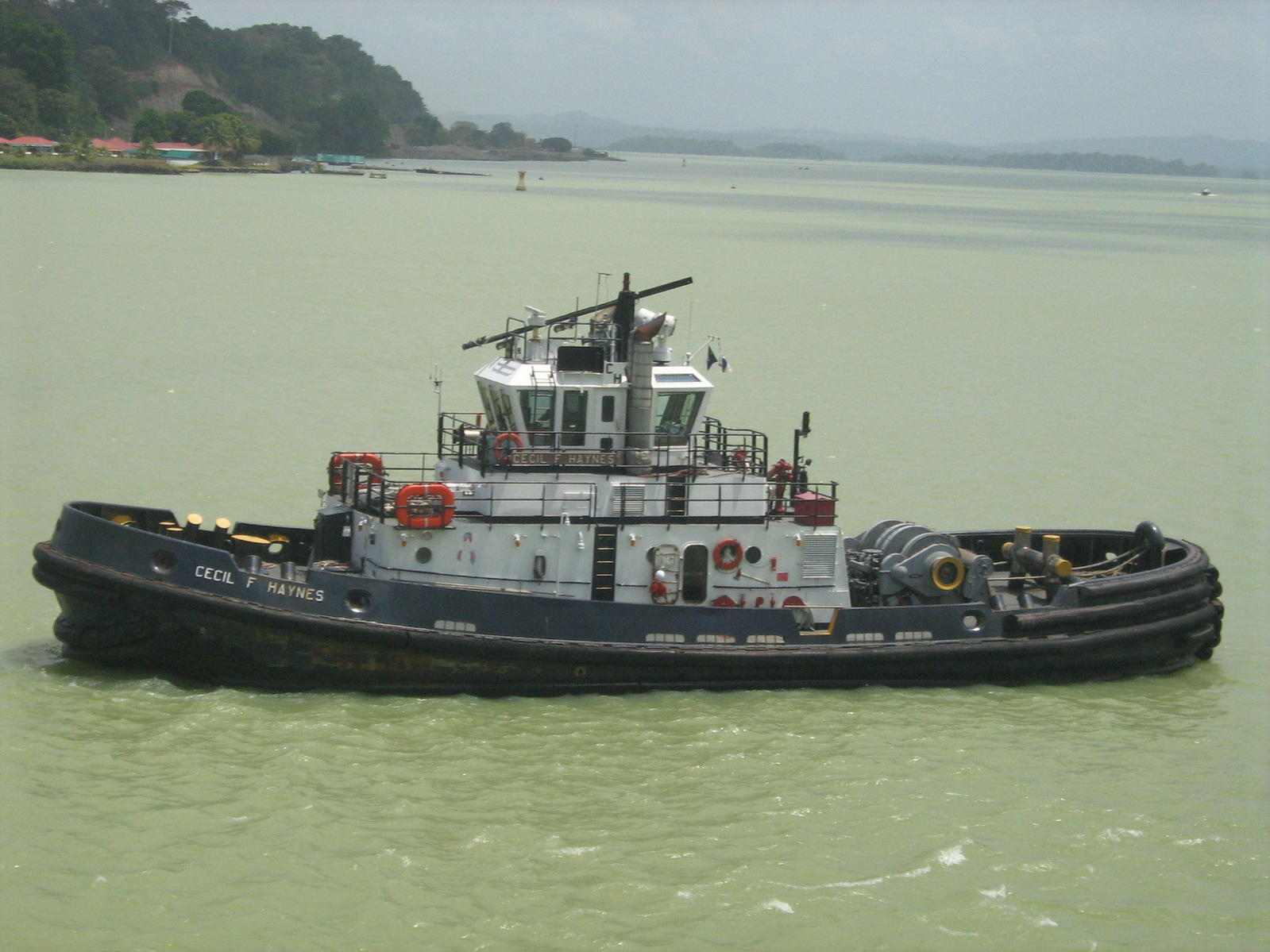 This is the tug boat I saw that started my boat model building interest.  I am told it is a tractor tug.