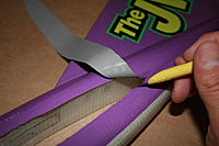 Name: IMG_5672.jpg Views: 55 Size: 340.8 KB Description: Using your razor knife, cut out the material at the wing hole.