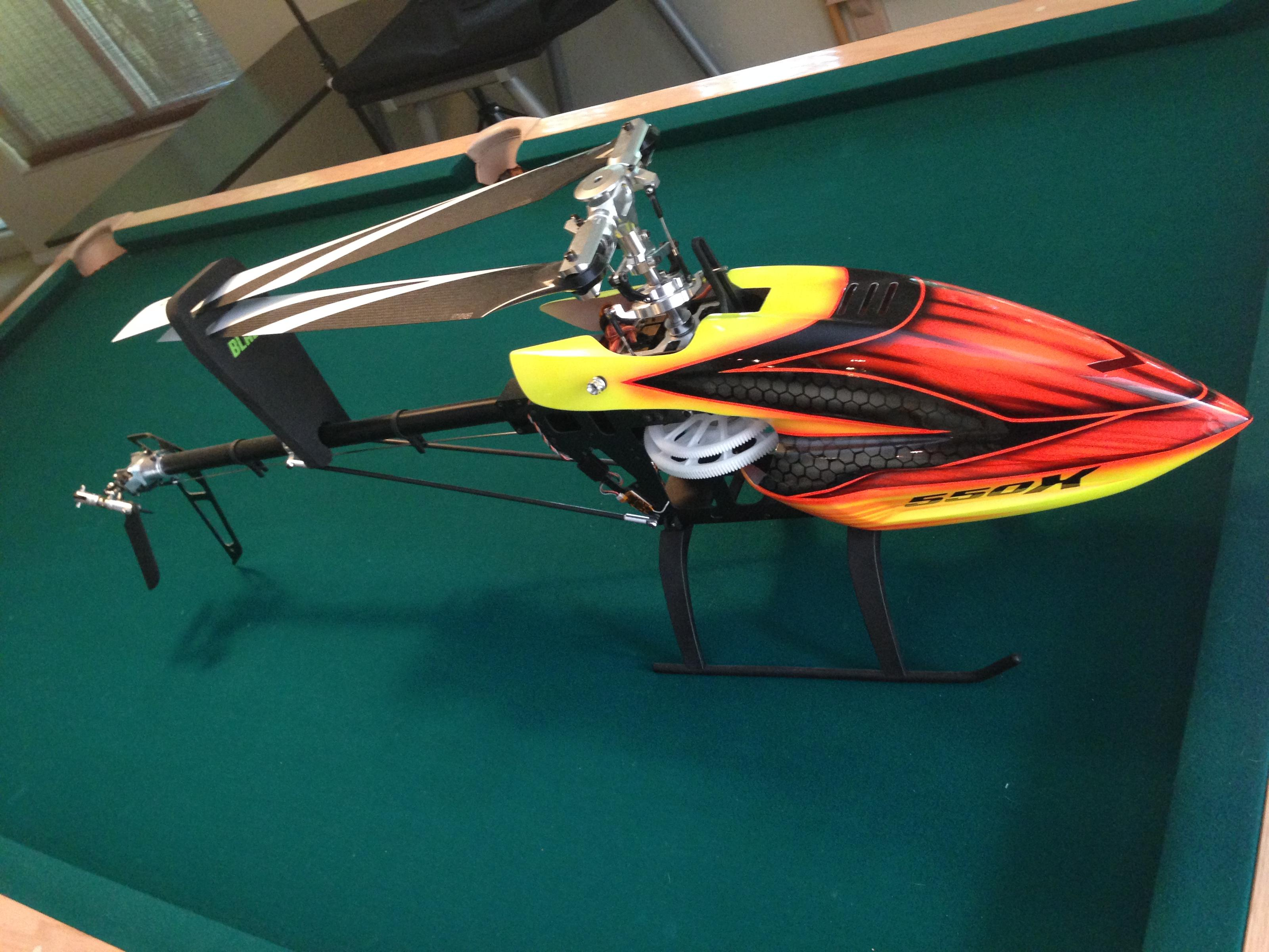 Helicopter Blade 550x Price Drop Page 1